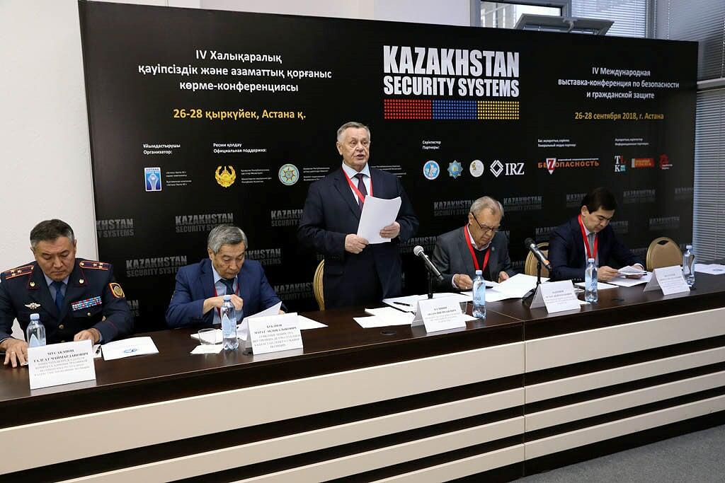 27 сентября в Астане в конференц-зале выставочного центра «Корме» состоялось отчетно-выборное собрание членов ОЮЛ «Ассоциация охранных организаций Республики Казахстан».