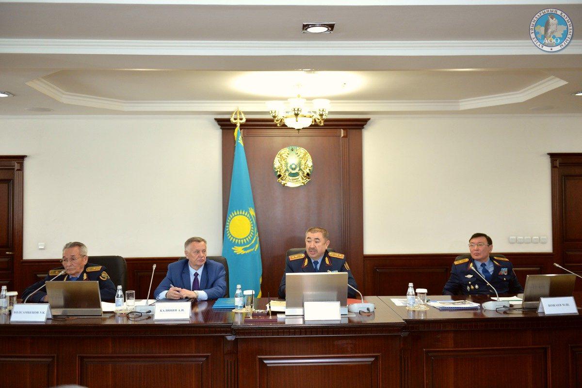 Рабочая встреча Министра с представителями ЧОО