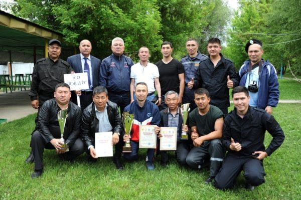Команда АО «ВЖДО» - победитель первенства в общем зачете