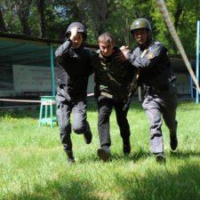 Эстафета для экипажей мобильных групп оперативного реагирования
