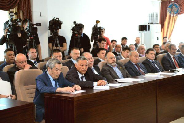 Рабочая встреча Министра с представителями ЧОО 1