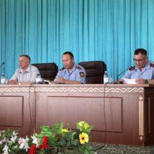 27 июня 2019 года в Департаменте полиции Алматы состоялось совещание с участием руководителей частных охранных организаций города