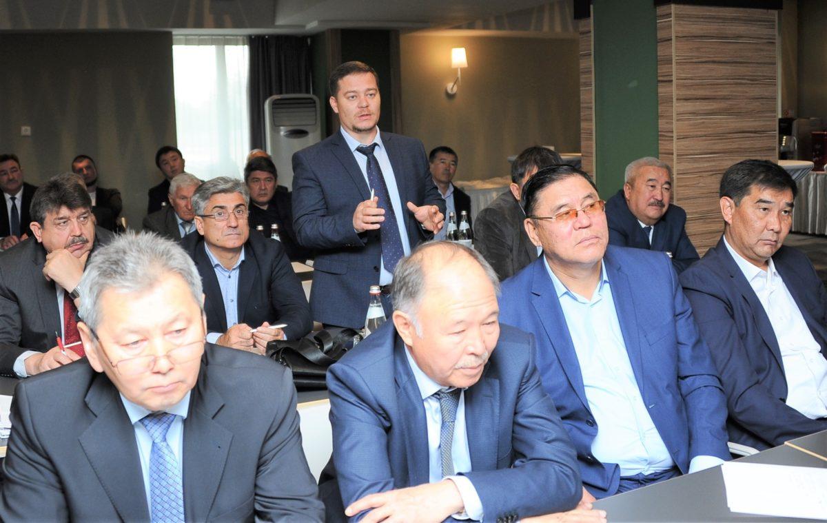 18 октября в конференц-зале гостиницы «Алматы» состоялось ежегодное общее собрание членов ОЮЛ «Ассоциация охранных организаций Республики Казахстан».
